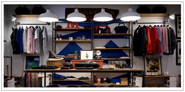 Organizing setup for shopify store