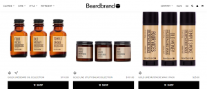 Beardbrand - best Shopify store