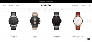 MVMT - best Shopify store